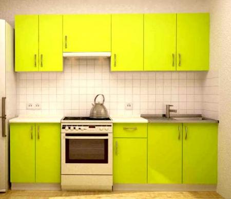 "Кухня ""Лайм"" 2,4м"