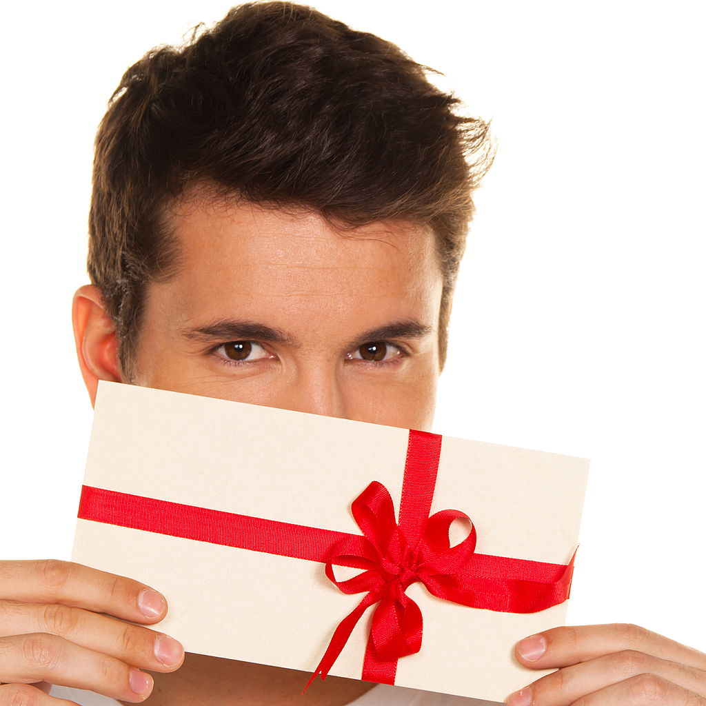 Подарок мужчине посещение
